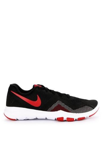 Nike black and multi Men's Nike Flex Control 2 Training Shoes BC752SH167BC99GS_1