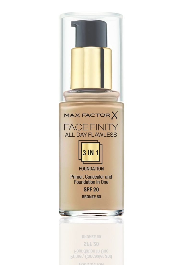 Face Finity 3 In 1 Foundation Bronze 80