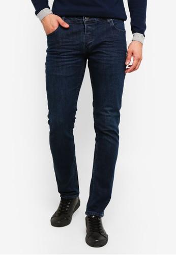 !Solid blue Joy Slim Fit Jeans F512CAAF07137EGS_1