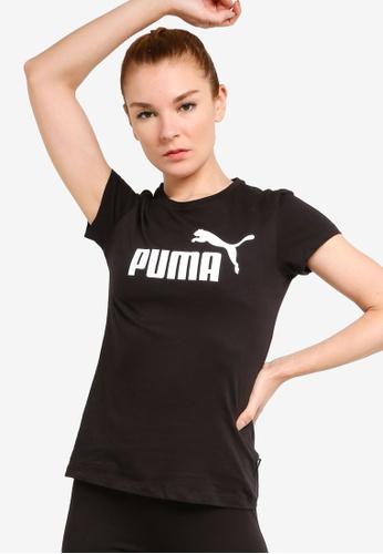 Puma black Ess Logo Tee 058B6AA2ABFEE8GS_1