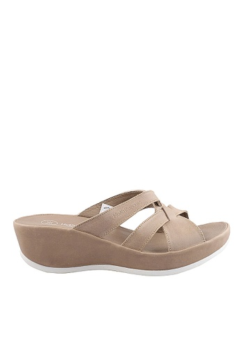 Hush Puppies brown Hush Puppies Audrey Bella Slip On In Taupe 81C09SH2ED2415GS_1