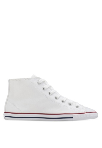 e0acb952bbbcc7 Converse white Chuck Taylor All Star Dainty Mid Women Sneakers  CO302SH73YJMMY 1