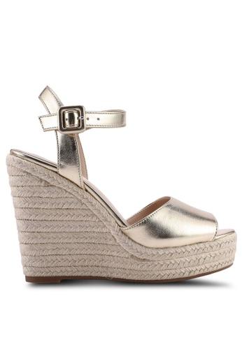ALDO 金色 Ybelani 楔型鞋 74D0ESH458BDF4GS_1