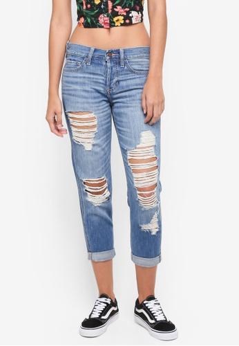 Hollister blue Medium Wash Effect Jeans 22C83AA20A87CDGS_1