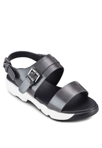 基本款尖頭厚底涼鞋esprit暢貨中心, 女鞋, 涼鞋