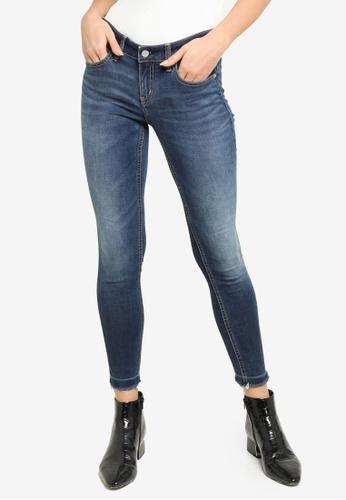 Calvin Klein blue Body Ankle Jeans 0AA3CAA6FA1C71GS_1