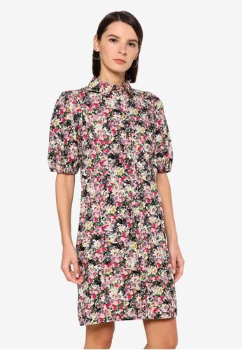 Vero Moda multi Anneline 2/4 Shirt Dress F0F2FAA3984DCEGS_1