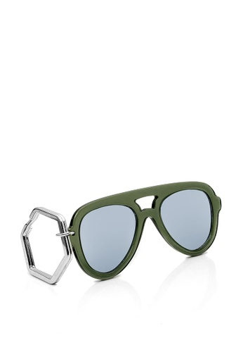 HEX EYEWEAR green HEXETATE Eyewear Accessories|Sunglasses Key Chain|Glasses Key Chain B229EAC4FB4FA8GS_1