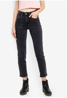 f257b31d8 Factorie black High Rise Straight Leg Jeans 2 40834AAD35AE3AGS_1