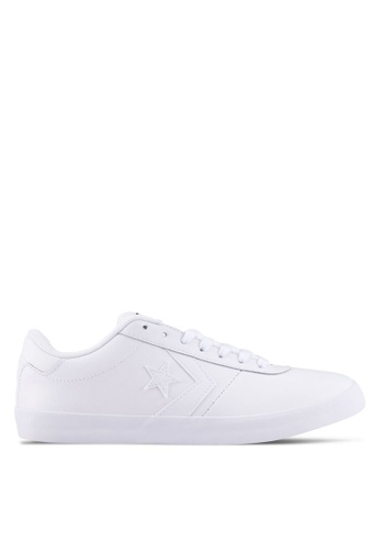 Converse white Converse Point Star Ox Sneakers CO302SH0SW7BMY_1