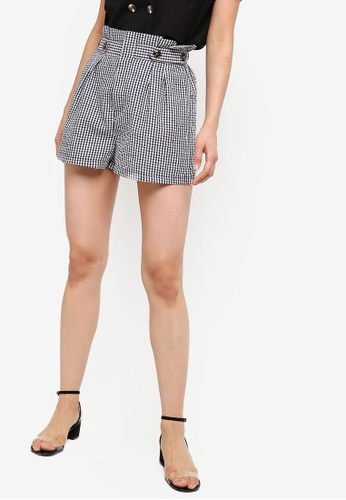 ZALORA BASICS multi Basic Button Waist Shorts 2D656AAFD9180CGS_1