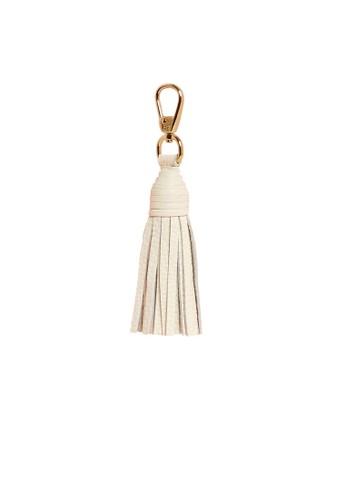 Pop & Suki white Wrapped Short Tassel FE7BDAC92617F2GS_1