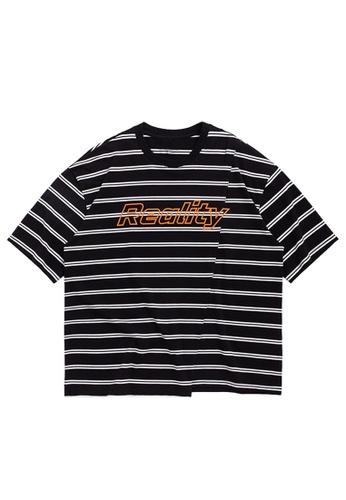 Twenty Eight Shoes Cropped Stripe Print T-shirt 1179S20 D1A49AA7966F30GS_1