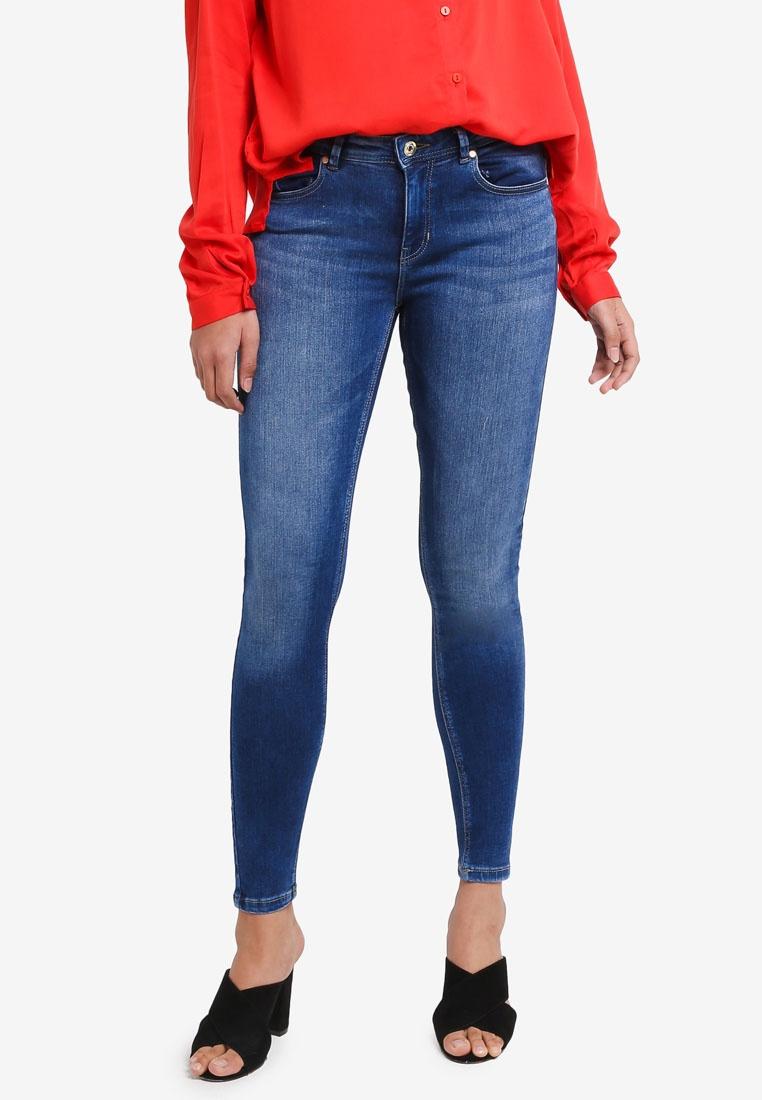 Medium Blue ONLY Jeans Carmen Denim qAw4R7