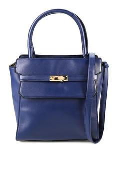 Karla Structured Top Handle Bag