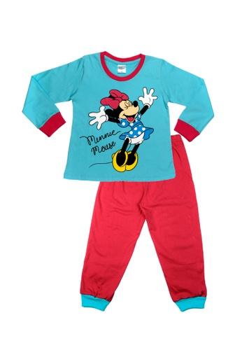 Disney Baby pink Disney Baby Girl Round Neck Pyjamas C6425KA7969832GS_1