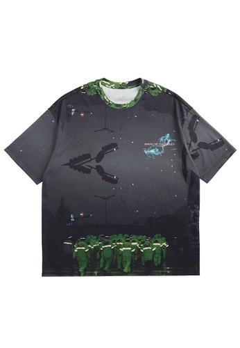 Twenty Eight Shoes Trend Printed Short T-shirt 5376S21 78741AAA123FF3GS_1