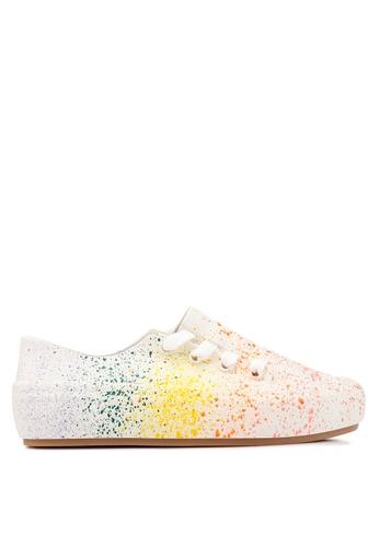 43f345bfecbc Melissa multi Melissa Ulitsa Sneaker Splash Ad Extended Sizing Sneakers  9A771SH495B9D3GS 1