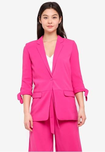 MbyM pink Karo Blazer AFA38AA2FDF4D0GS_1