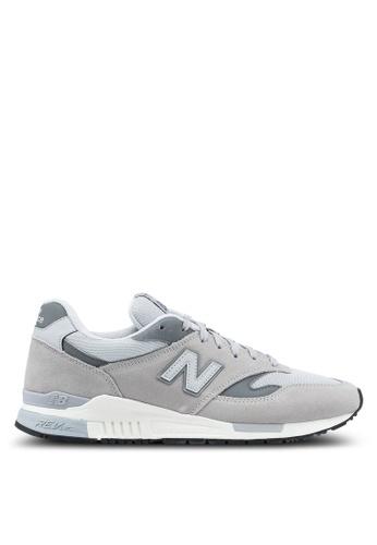 New Balance grey 840 Classic Lifestyle Sneakers NE323SH0SW9PMY_1