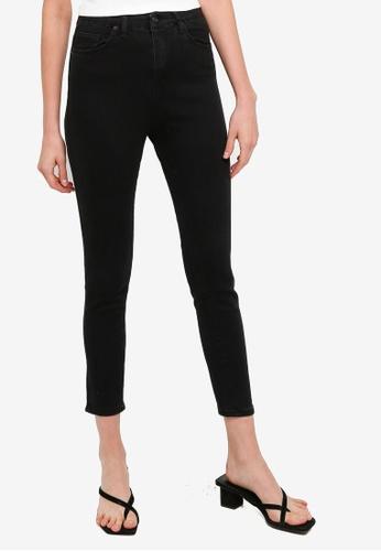 Trendyol black Black High Waist Skinny Jeans 3A7C5AAE69F885GS_1