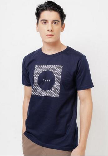 FAMO blue Men Tshirt 191220 F8060AAD450DBCGS_1