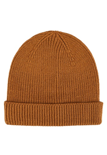 Only & Sons brown Frederico Knit Beanie 43332AC764AE98GS_1