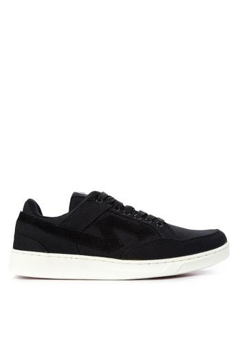 SONNIX black Imperial CS Q217 Men's Lace Up Sneaker Shoes SO490SH75ZUIPH_1