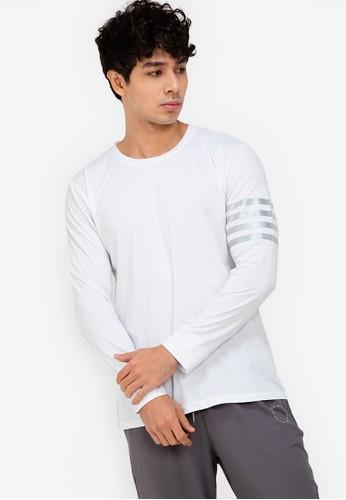 ZALORA ACTIVE white Reflective Stripe Detail Sweatshirt 53748AA6866F92GS_1