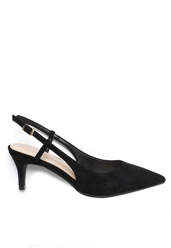 Twenty Eight Shoes 黑色 繞踝帶幼踭鞋192-30 97712SHF721659GS_1