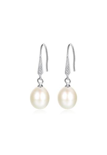 A.Excellence white Premium White Pearl Elegant Earring 0ED15AC796ED1AGS_1