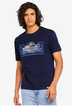 a17b4ce18ab1 AiNTFAKE navy Casual Jurassic World Licensed T-Shirt 2123BAA653633EGS_1
