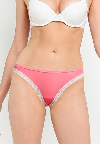 Calvin Klein 粉紅色 Bottoms Up Bikini Briefs - Calvin Klein Underwear B9508US9572132GS_1