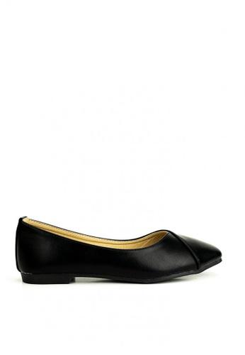 Mario D' boro Runway black Bethany Flat Shoes E3F5BSH8B7F9D8GS_1