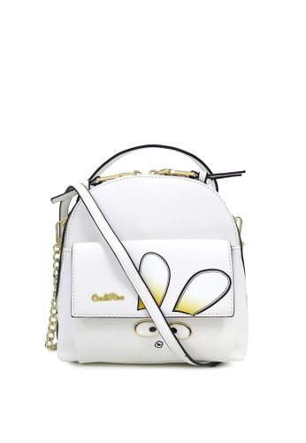 Carlo Rino white Carlo Rino 0304319A-001-01 Sling Bag (White) 48E92AC5C8421EGS_1