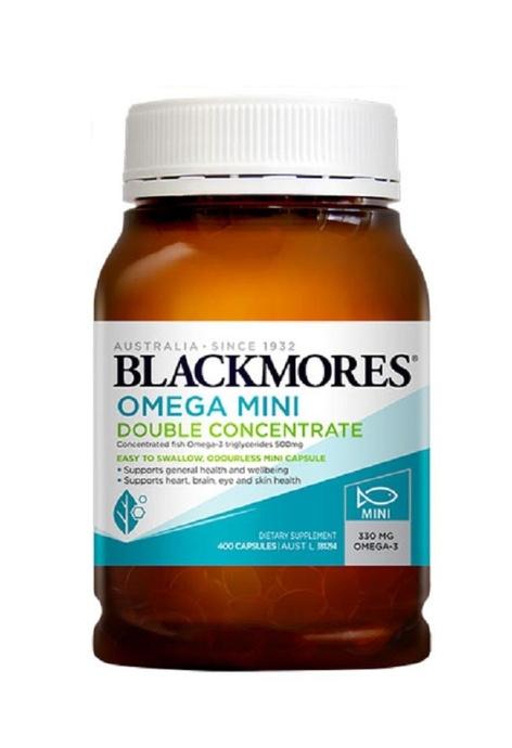 BLACKMORES BLACKMORES - 無腥味深海魚油 迷你膠囊 400粒