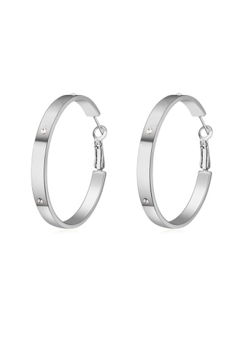 Urban Outlier silver Crystal Earrings 116577 F834EACF78240DGS_1