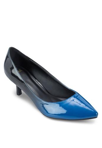 漸層雙色zalora 心得尖頭高跟鞋, 女鞋, 厚底高跟鞋