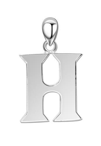 SC Tom Silver silver Letter Pendant SC872AC0J6TXPH_1