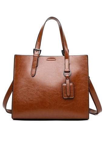 Twenty Eight Shoes Vintage Faux Leather Tote Bag DP910 6D195AC4668AA7GS_1