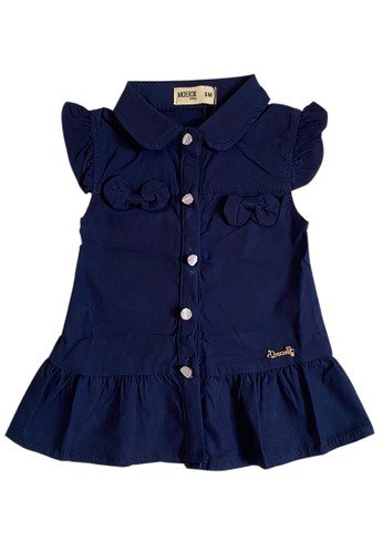 Moejoe navy MOEJOE Cute Alesha Baby Dress - NAVY 61ADCKA0C5676AGS_1