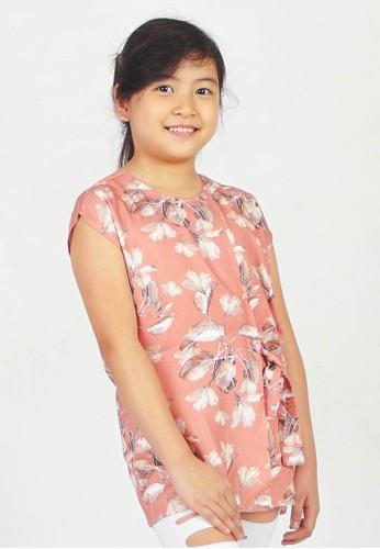 CUIT pink CUIT Kids MAIKO BLOUSE ANAK - DUSTY PINK 896A4KA078FEBAGS_1