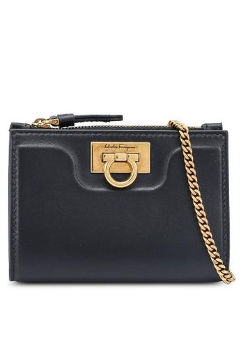 Ferragamo black Trifolio Wallet (zt) 37491AC359A3C0GS_1