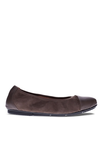 Vionic brown Tina Ballet Flat CF5C5SH4608E83GS_1