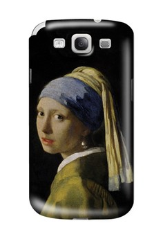 Pearl Earring Matte Hard Case for Samsung Galaxy S3
