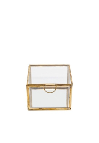 Stylodeco Vintage Jewellery Box in Brass, Mirror Base, M A142DHL7D87918GS_1