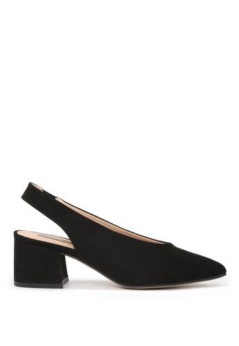 London Rag black Shannah Point Toe Heels SH1629 ED2A7SH83C4C5CGS_1