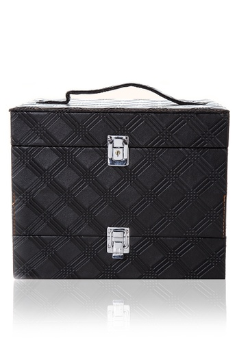 Suesh black Vanity Case with Built-in LED Lights SU271BE32QIDPH_1