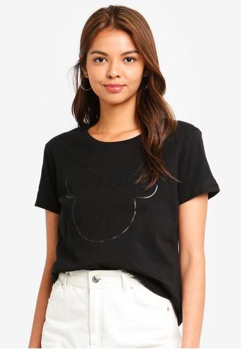 Cotton On black Tbar Fox Graphic T-Shirt 0167AAAC77F3E9GS_1