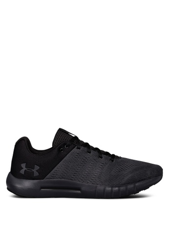 Under Armour black UA Micro G Pursuit Running Shoes 3074DSH746902FGS_1